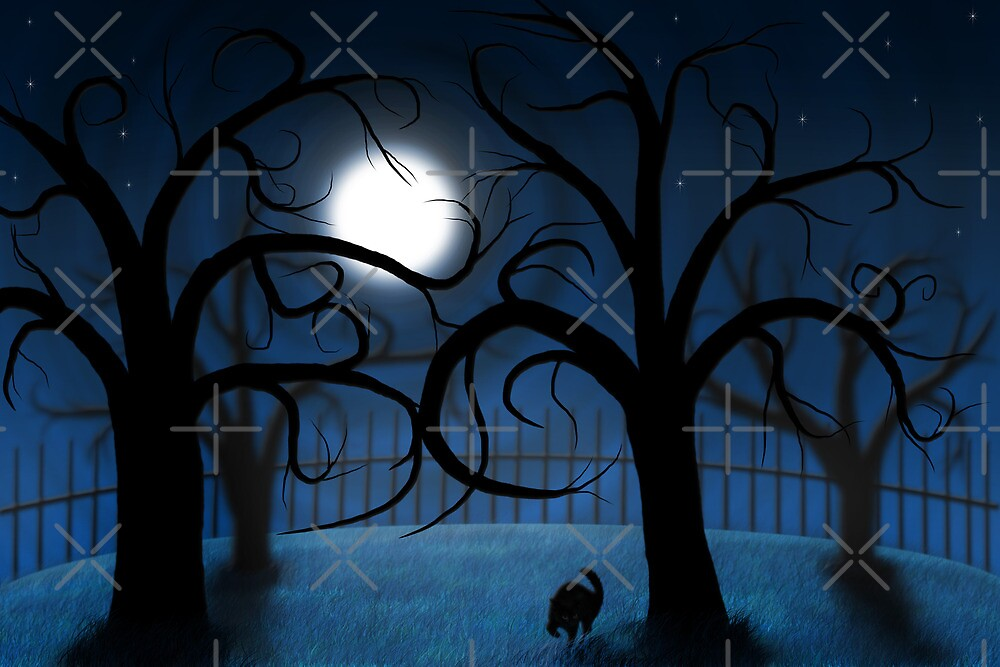 Haunted Night by Megan Noble