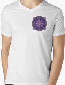 Crown Chakra Mandala 2d Mens V-Neck T-Shirt