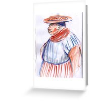 Mexican Sketchbook 2011 Greeting Card
