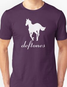 New DEFTONES White Pony Rock Band Logo Men's Black T-Shirt T-Shirt