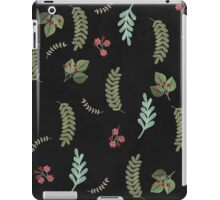 Winter and Fall Botanical leaves, berries, nature iPad Case/Skin