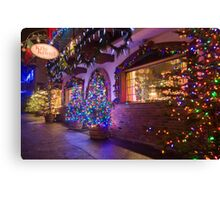 Kris Kringle Canvas Print