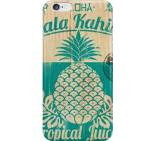 S/S 2015 - Pineapples - Hala Kahiki Juice Stand iPhone Case/Skin