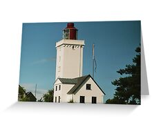 Lighthouse in Danmark Greeting Card
