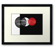 Earth, air and fire Framed Print