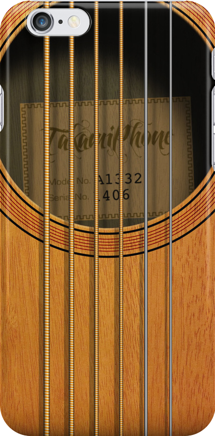 """""""Takamiphone"""" Acoustic Guitar by abinning"""