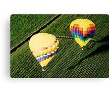 """Balloons Over Napa Valley"" Canvas Print"