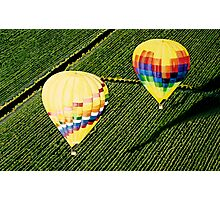 """Balloons Over Napa Valley"" Photographic Print"