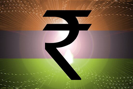 Indian Rupee Background by thefinalmiracle