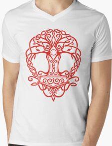 Yggdrasil - Yrminsul Mens V-Neck T-Shirt