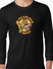 Yoga Flame Grilled BBQ Long Sleeve T-Shirt