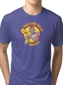 Yoga Flame Grilled BBQ Tri-blend T-Shirt