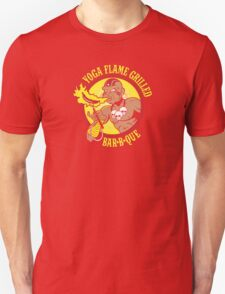 Yoga Flame Grilled BBQ Unisex T-Shirt