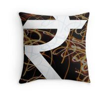 Indian Rupee  Throw Pillow