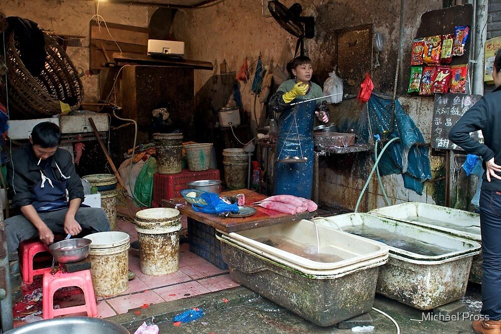 China Fish Markets by Michael Pross
