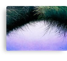 """Nature's Eyelashes"" Canvas Print"