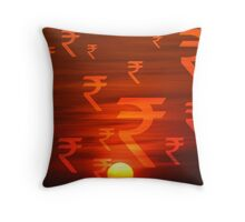 Rupees Dawn Throw Pillow