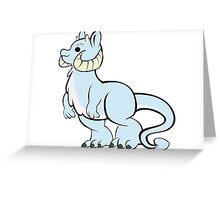 Chubby Tubby Taun Taun Greeting Card