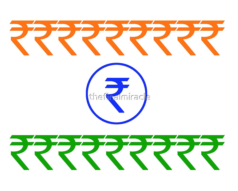 Rupee Flag by thefinalmiracle