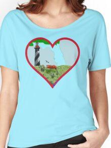 Florida lighthouse Women's Relaxed Fit T-Shirt