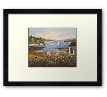 The Perfect View Framed Print