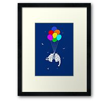 Flying Ankylosaur Framed Print