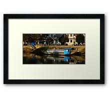 HouseBoat - Viet Nam Framed Print