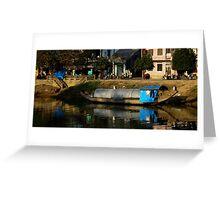 HouseBoat - Viet Nam Greeting Card