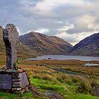 Doolough Tragedy Cross in Co.Mayo Ireland. by MickBourke