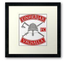 Einherjar Fightclub Valhalla Framed Print