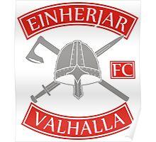 Einherjar Fightclub Valhalla Poster