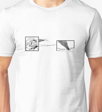 Death Of A Pilot (Black n White) Unisex T-Shirt
