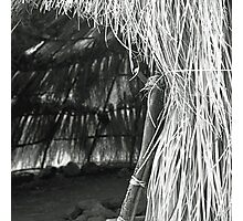 Native American Hut Photographic Print