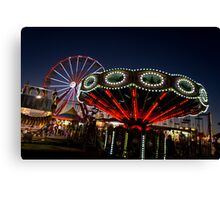 Lights of the Midway Canvas Print