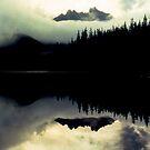 Three Fingered Jack, Duffy Lake, Oregon by Syd Bates