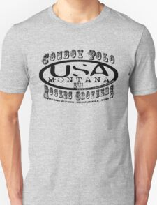 cowboy polo usa by rogers bros T-Shirt