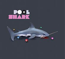 Animal Art - Pool Shark by Michael Murray