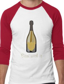 Deal With It Men's Baseball ¾ T-Shirt
