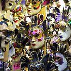 Carnival Masks by Rae Tucker