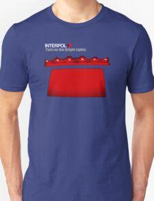 New INTERPOL Turn On The Bright Lights Rock Band Men's Black T-Shirt T-Shirt
