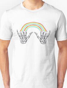 Louis Tomlinson Double Rainbow Hands Unisex T-Shirt