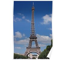 Eiffel Tower from the Champ de Mars (Aug 2008) Poster