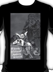 Sleep of Reason brings Demons T-Shirt
