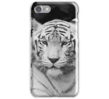 The White Prince Of Tigers iPhone Case/Skin