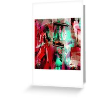 Urban Scrawls Graffiti - Right Greeting Card