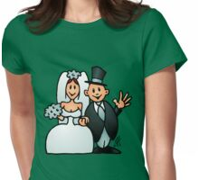 Wonderfull wedding Womens Fitted T-Shirt