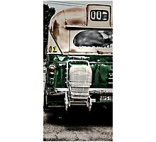 Bus 101 Photographic Print