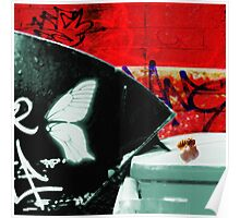 Urban Scrawls Graffiti - Insect Hunting Poster