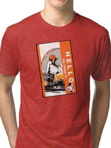 HELLO: It's Raining Game Tri-blend T-Shirt