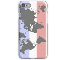 Harmonic earth map iPhone Case/Skin